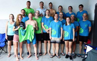 Master Schwimmer dominieren