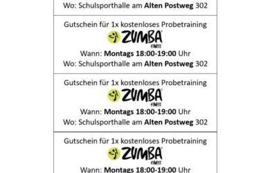 Kostenloses Zumba Probetraining im Juni