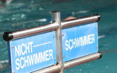 Sommerplan Schwimmen ab 20.7.