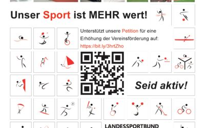 Unser Sport ist MEHR wert! Online Petition